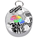 Panic ! At The Disco Silver Compasses