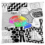 Panic ! At The Disco Large Flano Cushion Case (One Side)