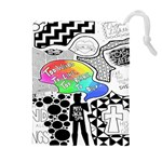 Panic ! At The Disco Drawstring Pouches (Extra Large)
