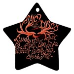 Panic At The Disco   Lying Is The Most Fun A Girl Have Without Taking Her Clothes Ornament (Star)