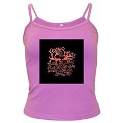 Panic At The Disco   Lying Is The Most Fun A Girl Have Without Taking Her Clothes Dark Spaghetti Tank by Onesevenart