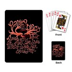 Panic At The Disco   Lying Is The Most Fun A Girl Have Without Taking Her Clothes Playing Card