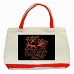 Panic At The Disco   Lying Is The Most Fun A Girl Have Without Taking Her Clothes Classic Tote Bag (Red)