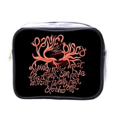 Panic At The Disco   Lying Is The Most Fun A Girl Have Without Taking Her Clothes Mini Toiletries Bags by Onesevenart