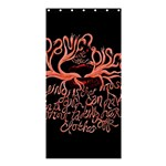 Panic At The Disco   Lying Is The Most Fun A Girl Have Without Taking Her Clothes Shower Curtain 36  x 72  (Stall)