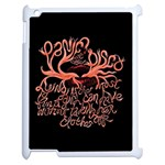 Panic At The Disco   Lying Is The Most Fun A Girl Have Without Taking Her Clothes Apple iPad 2 Case (White)