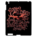 Panic At The Disco   Lying Is The Most Fun A Girl Have Without Taking Her Clothes Apple iPad 3/4 Hardshell Case