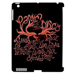 Panic At The Disco   Lying Is The Most Fun A Girl Have Without Taking Her Clothes Apple iPad 3/4 Hardshell Case (Compatible with Smart Cover)