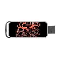 Panic At The Disco   Lying Is The Most Fun A Girl Have Without Taking Her Clothes Portable Usb Flash (two Sides) by Onesevenart