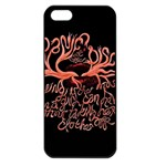 Panic At The Disco   Lying Is The Most Fun A Girl Have Without Taking Her Clothes Apple iPhone 5 Seamless Case (Black)