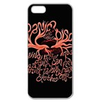 Panic At The Disco   Lying Is The Most Fun A Girl Have Without Taking Her Clothes Apple Seamless iPhone 5 Case (Clear)