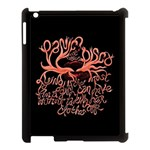 Panic At The Disco   Lying Is The Most Fun A Girl Have Without Taking Her Clothes Apple iPad 3/4 Case (Black)