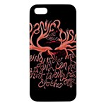 Panic At The Disco   Lying Is The Most Fun A Girl Have Without Taking Her Clothes Apple iPhone 5 Premium Hardshell Case