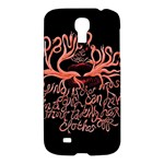 Panic At The Disco   Lying Is The Most Fun A Girl Have Without Taking Her Clothes Samsung Galaxy S4 I9500/I9505 Hardshell Case