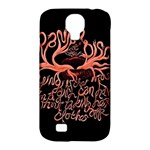 Panic At The Disco   Lying Is The Most Fun A Girl Have Without Taking Her Clothes Samsung Galaxy S4 Classic Hardshell Case (PC+Silicone)
