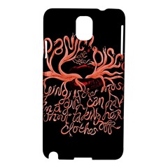 Panic At The Disco   Lying Is The Most Fun A Girl Have Without Taking Her Clothes Samsung Galaxy Note 3 N9005 Hardshell Case by Onesevenart