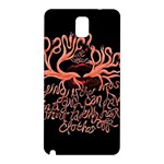 Panic At The Disco   Lying Is The Most Fun A Girl Have Without Taking Her Clothes Samsung Galaxy Note 3 N9005 Hardshell Back Case