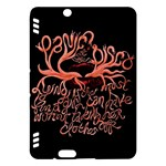 Panic At The Disco   Lying Is The Most Fun A Girl Have Without Taking Her Clothes Kindle Fire HDX Hardshell Case