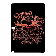 Panic At The Disco   Lying Is The Most Fun A Girl Have Without Taking Her Clothes Samsung Galaxy Tab Pro 10 1 Hardshell Case by Onesevenart