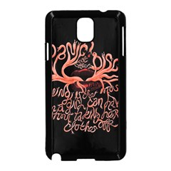 Panic At The Disco   Lying Is The Most Fun A Girl Have Without Taking Her Clothes Samsung Galaxy Note 3 Neo Hardshell Case (black) by Onesevenart