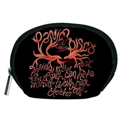 Panic At The Disco   Lying Is The Most Fun A Girl Have Without Taking Her Clothes Accessory Pouches (medium)  by Onesevenart