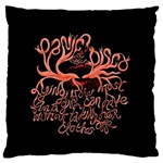 Panic At The Disco   Lying Is The Most Fun A Girl Have Without Taking Her Clothes Large Flano Cushion Case (Two Sides)