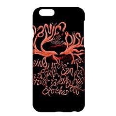 Panic At The Disco   Lying Is The Most Fun A Girl Have Without Taking Her Clothes Apple Iphone 6 Plus/6s Plus Hardshell Case by Onesevenart