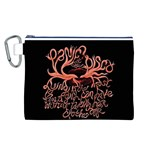 Panic At The Disco   Lying Is The Most Fun A Girl Have Without Taking Her Clothes Canvas Cosmetic Bag (L)