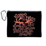 Panic At The Disco   Lying Is The Most Fun A Girl Have Without Taking Her Clothes Canvas Cosmetic Bag (XL)