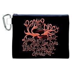 Panic At The Disco   Lying Is The Most Fun A Girl Have Without Taking Her Clothes Canvas Cosmetic Bag (xxl) by Onesevenart