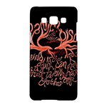 Panic At The Disco   Lying Is The Most Fun A Girl Have Without Taking Her Clothes Samsung Galaxy A5 Hardshell Case
