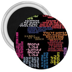Panic At The Disco Northern Downpour Lyrics Metrolyrics 3  Magnets by Onesevenart