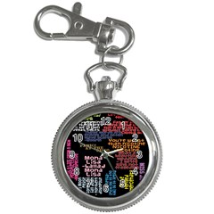 Panic At The Disco Northern Downpour Lyrics Metrolyrics Key Chain Watches by Onesevenart
