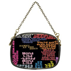 Panic At The Disco Northern Downpour Lyrics Metrolyrics Chain Purses (one Side)  by Onesevenart