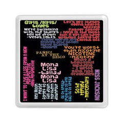 Panic At The Disco Northern Downpour Lyrics Metrolyrics Memory Card Reader (square)  by Onesevenart