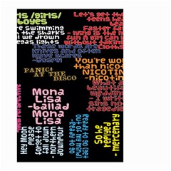 Panic At The Disco Northern Downpour Lyrics Metrolyrics Small Garden Flag (two Sides) by Onesevenart