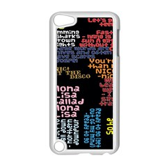 Panic At The Disco Northern Downpour Lyrics Metrolyrics Apple Ipod Touch 5 Case (white) by Onesevenart