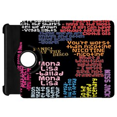 Panic At The Disco Northern Downpour Lyrics Metrolyrics Kindle Fire Hd Flip 360 Case by Onesevenart