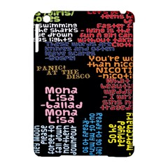 Panic At The Disco Northern Downpour Lyrics Metrolyrics Apple Ipad Mini Hardshell Case (compatible With Smart Cover) by Onesevenart