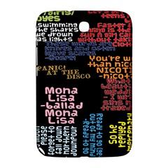 Panic At The Disco Northern Downpour Lyrics Metrolyrics Samsung Galaxy Note 8 0 N5100 Hardshell Case  by Onesevenart