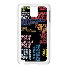 Panic At The Disco Northern Downpour Lyrics Metrolyrics Samsung Galaxy Note 3 N9005 Case (white) by Onesevenart