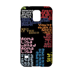 Panic At The Disco Northern Downpour Lyrics Metrolyrics Samsung Galaxy S5 Hardshell Case  by Onesevenart