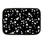Black And White Starry Pattern Netbook Case (Medium)