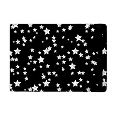 Black And White Starry Pattern Apple Ipad Mini Flip Case by DanaeStudio