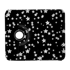 Black And White Starry Pattern Samsung Galaxy S  Iii Flip 360 Case by DanaeStudio