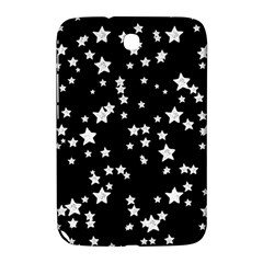 Black And White Starry Pattern Samsung Galaxy Note 8 0 N5100 Hardshell Case  by DanaeStudio