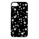 Black And White Starry Pattern Apple iPhone 5S/ SE Hardshell Case