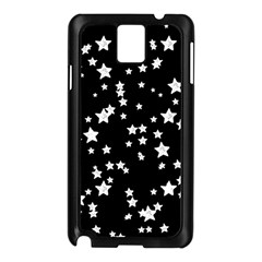 Black And White Starry Pattern Samsung Galaxy Note 3 N9005 Case (black) by DanaeStudio