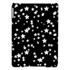 Black And White Starry Pattern Ipad Air Hardshell Cases by DanaeStudio