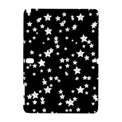 Black And White Starry Pattern Samsung Galaxy Note 10 1 (p600) Hardshell Case by DanaeStudio